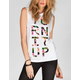 NEFF Austin Carlile Turn It Up Womens Muscle Tank