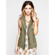 ASHLEY Womens Anorak Vest