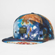 SKULLS Cosmos Mens Hybrid Snapback Hat