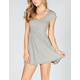 FULL TILT Striped Babydoll Dress