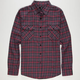 SHOUTHOUSE Bryce Mens Flannel Shirt