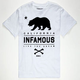 INFAMOUS Live The Dream Mens T-Shirt