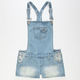 YMI Girls Denim Short-alls