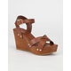 CITY CLASSIFIED Klaris Womens Wedges