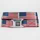 BUCKLE-DOWN Caddie Flag Buckle Belt
