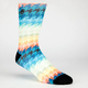 LRG Brighter Side of Life Mens Crew Socks
