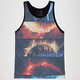 BLUE CROWN Out In Space Mens Tank