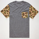 LIRA Bubble Camo Mens Pocket Tee