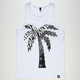 BLVD Zebra Palm Mens Tank