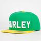 HURLEY Stadium Regional Brazil Mens Snapback Hat