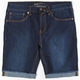 RSQ London Mens Skinny Denim Cutoff Shorts