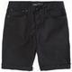 RSQ London Mens Skinny Twill Cutoff Shorts