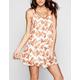 H.I.P. Floral Print Slip Dress