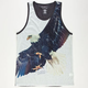 BILLABONG White Mike Freebird Mens Tank