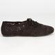 SODA Crochet Girls Oxford Shoes