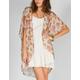 FULL TILT Bouquet Print Womens Kimono