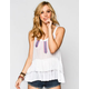 PATRONS OF PEACE Womens Layered Cami