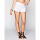 PATRONS OF PEACE Womens Eyelet Shorts