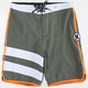 HURLEY Phantom Block Party Heather Mens Boardshorts
