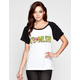 METAL MULISHA Creature Womens Raglan Tee