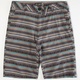 RETROFIT Jacquard Stripe Mens Shorts