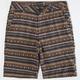 RETROFIT Jacquard Stripe Mens Shorts