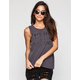 VOLCOM Toughin Up Womens Muscle Tank