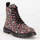 SIMPLY PETALS Girls Combat Boots