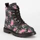 SIMPLY PETALS Girls Combat Boots