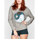 FULL TILT Yin Yang Cloud Womens Sweatshirt