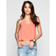 FULL TILT Double Strap Womens Swing Tank