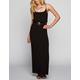 FULL TILT Basic Cinch Waist Maxi Dress