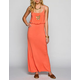 FULL TILT Basic Cinch Waist Maxi Dress