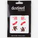 DESTINED California Bear Nail Wraps
