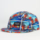 SHAW PARK Hawaii Postcard Mens 5 Panel Hat