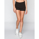 ALMOST FAMOUS Crochet Trim Womens Ponte Knit Shorts