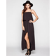 RVCA Luck Now Hi Low Maxi Dress