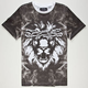 AURA GOLD Lion Smoke Sub Mens T-Shirt