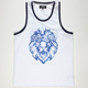 AURA GOLD Lion Wave Mens Tank
