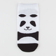 FULL TILT Panda Womens Ankle Socks
