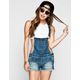 YMI Womens Denim Cutoff Short-alls