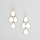 FULL TILT Epoxy Teardrop Chandelier Earrings