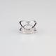 FULL TILT Rhinestone X Ring
