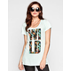 VOLCOM One Wild Womens Boy Tee