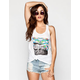 HURLEY Flamingo Watch Womens Tank
