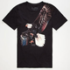BILLABONG White Mike Freebird Mens T-Shirt