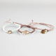 FULL TILT 3 Piece Infinity/Arrow Braided Bracelets