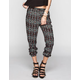 FULL TILT Ethnic Print Pleated Womens Pants
