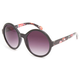 FULL TILT Spinning Floral Round Sunglasses