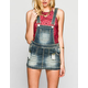 ALMOST FAMOUS Womens Denim Skirt-all